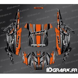 Kit décoration Titanium Edition (Orange)- IDgrafix - Polaris RZR 1000 Turbo