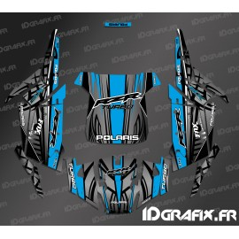 Kit dekor Straight Edition (Blau)- IDgrafix - Polaris RZR 1000 Turbo -idgrafix