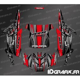 Kit de decoració Recta Edició (Blau)- IDgrafix - Polaris RZR 1000 Turbo