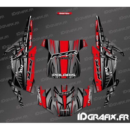 Kit decoration Straight Edition (Blue)- IDgrafix - Polaris RZR 1000 Turbo-idgrafix