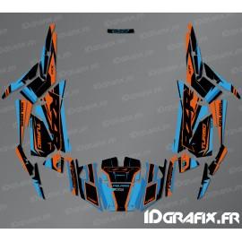 Kit décoration Factory Edition (Bleu/Orange)- IDgrafix - Polaris RZR 1000 Turbo