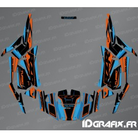 Kit decorazione Dritto Edition (Blu)- IDgrafix - Polaris RZR 1000 Turbo -idgrafix