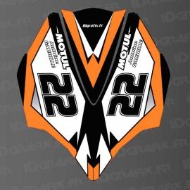 Kit decorazione di Copertura AV Arancione LTD per Kawasaki Ultra 250/260/300/310R -idgrafix