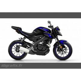 Kit décoration Racing Bleu - IDgrafix - Yamaha MT-125-idgrafix