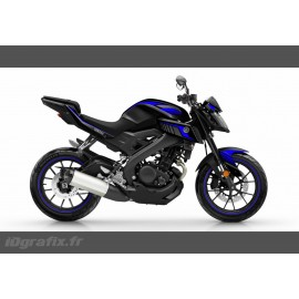 Kit decoration Racing Blue - IDgrafix - Yamaha MT-125 - IDgrafix