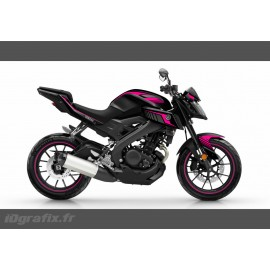 Kit decoration Racing Pink - IDgrafix - Yamaha MT-125 - IDgrafix