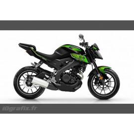 Kit décoration Monster Edition (Vert)- IDgrafix - Yamaha MT-125-idgrafix