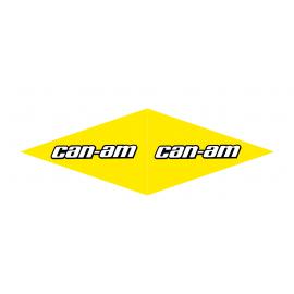 Lot 4 Stickers Can Am (long 1 m - largeur 12cm)