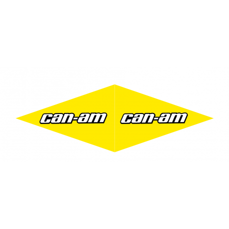 Lot 4 Stickers Can Am (long 1 m - largeur 12cm) -idgrafix