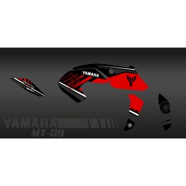 Kit décoration Monster Edition (red) - IDgrafix - Yamaha MT-09 (after 2017)