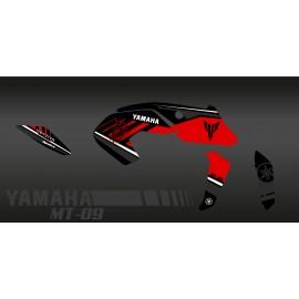 Kit décoration Monster Edition (rouge) - IDgrafix - Yamaha MT-09 (après 2017)-idgrafix
