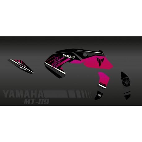 Kit de décoration Monstre Edició (Rosa) - IDgrafix - Yamaha MT-09 (després de 2017) -idgrafix