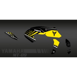 Kit décoration Monster Edition (Yellow) - IDgrafix - Yamaha MT-09 (after 2017)