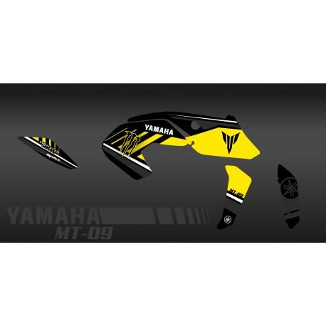 Kit décoration Monster Edition (Yellow) - IDgrafix - Yamaha MT-09 (after 2017)-idgrafix