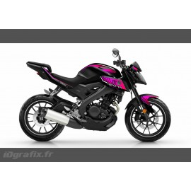 Kit décoration Monster Edition (Pink)- IDgrafix - Yamaha MT-125