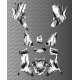 Kit Deco OSpeed edition Full (Grey) - Kymco 700 MXU (after 2019)-idgrafix
