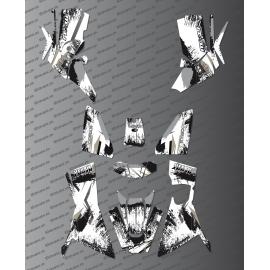 Kit-Deco-OSpeed edition Full (Grau) - Kymco 700 MXU (nach 2019)-idgrafix