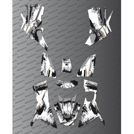 Kit Deco OSpeed edizione Completa (Grigio) - Kymco MXU 700 (dopo il 2019) -idgrafix