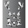 Kit Deco OSpeed edizione Completa (Grigio) - Kymco MXU 700 (dopo il 2019)