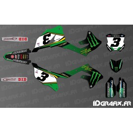 Kit deco Eli Tomac 2019 Replica for Kawasaki KX/KXF - IDgrafix