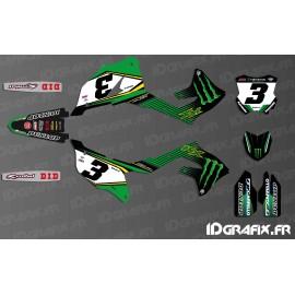 Kit deco Eli Tomac 2019 Replica for Kawasaki KX/KXF - IDgrafix