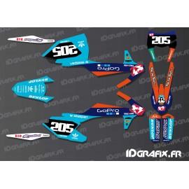Kit deco Lucas Oil GoPro - Edition KTM SX - SXF-idgrafix