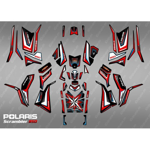 Kit de decoración de Edición Limitada (Completo) - IDgrafix - Polaris 850/1000 Scrambler