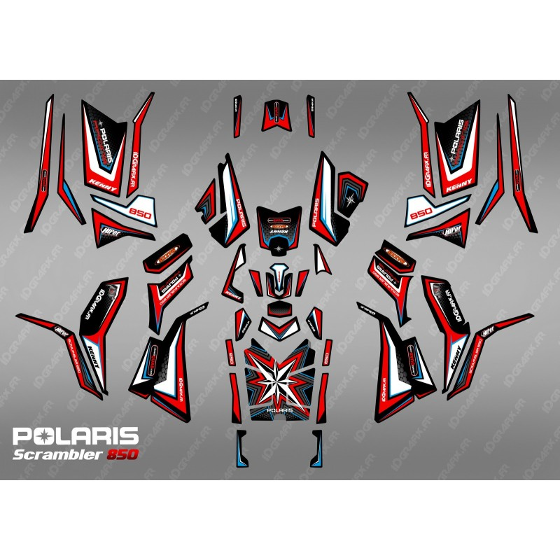 Kit decoration Limited Edition (Full) - IDgrafix - Polaris 850/1000 Scrambler-idgrafix