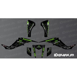 Kit de decoración Personalizada Monster Edition - IDgrafix - Kawasaki KFX 400