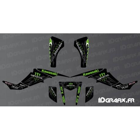 Kit decoration Custom Monster Edition - IDgrafix - Kawasaki KFX 400-idgrafix