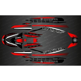 Kit deco Race Issue Red - YAMAHA-FX (AFTER 2019)-idgrafix