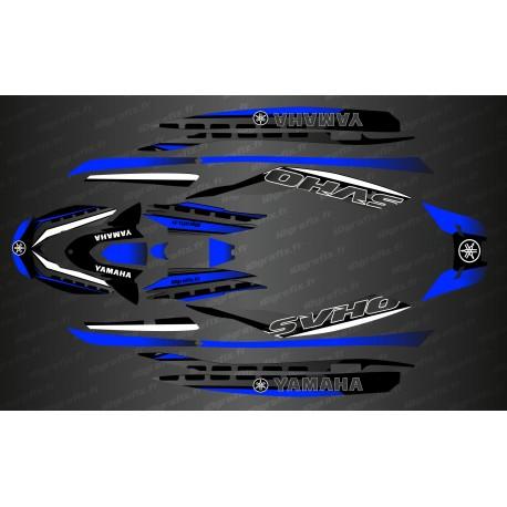Kit deco Race Issue Blue - YAMAHA's FX (AFTER 2019)-idgrafix