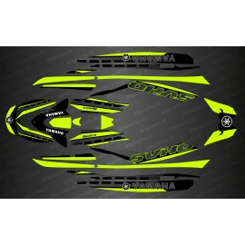 Kit deco Race Issue Yellow Lime - YAMAHA-FX (AFTER 2019)