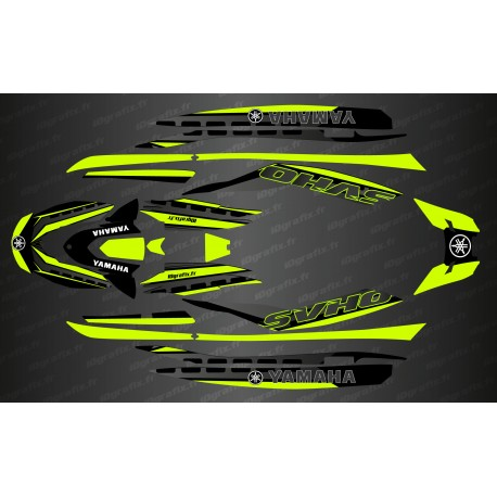 Kit deco Race Issue Yellow Lime - YAMAHA-FX (AFTER 2019)-idgrafix