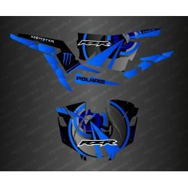 Kit décoration Optic Edition (Bleu)- IDgrafix - Polaris RZR 1000 Turbo / Turbo S-idgrafix
