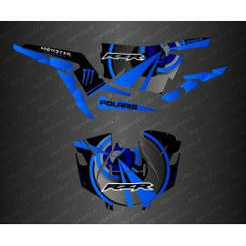 Kit decoration Optic Edition (Blue)- IDgrafix - Polaris RZR 1000 Turbo / Turbo S - IDgrafix
