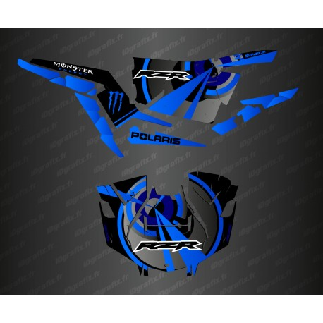 Kit decoration Optic Edition (Blue)- IDgrafix - Polaris RZR 1000 Turbo / Turbo S-idgrafix
