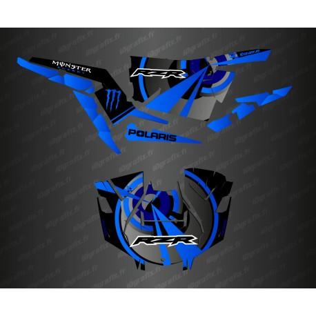 Kit decoration Optic Edition (Blue)- IDgrafix - Polaris RZR 1000 Turbo / Turbo S-idgrafix