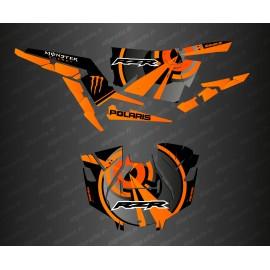Kit de decoració Òptica Edició (Taronja)- IDgrafix - Polaris RZR 1000 Turbo / Turbo S