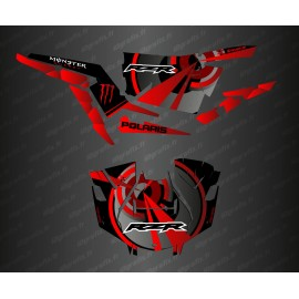 Kit de decoració Òptica Edició (Vermell)- IDgrafix - Polaris RZR 1000 Turbo / Turbo S