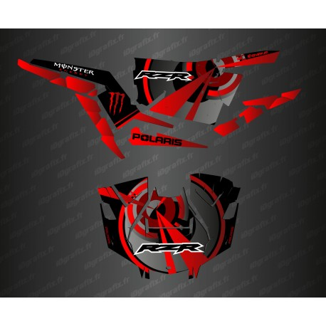 Kit decoration Optic Edition (Red)- IDgrafix - Polaris RZR 1000 Turbo / Turbo S-idgrafix