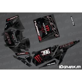 Kit décoration Monster Factory Edition (Rouge)- IDgrafix - Polaris RZR 1000 Turbo / Turbo S-idgrafix