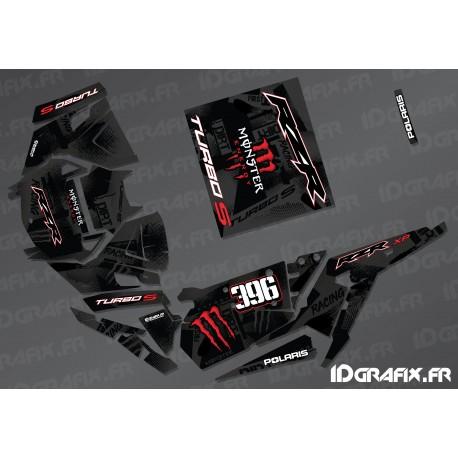 Kit de décoration Monstre Fàbrica Edició (Vermell)- IDgrafix - Polaris RZR 1000 Turbo / Turbo S -idgrafix