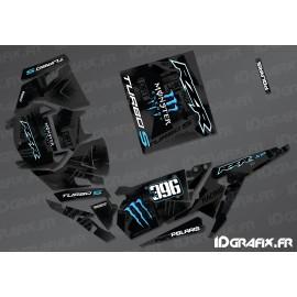Kit décoration Monster Factory Edition (Bleu)- IDgrafix - Polaris RZR 1000 Turbo / Turbo S-idgrafix