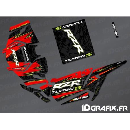 Kit decoration Flash Edition (Red)- IDgrafix - Polaris RZR 1000 Turbo / Turbo S-idgrafix