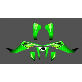 Kit de decoración de Carreras de Power Edition - IDgrafix - Kawasaki KFX 400