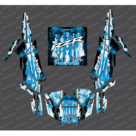 Kit decoration Drop Edition (Blue)- IDgrafix - Polaris RZR 1000 Turbo / Turbo S - IDgrafix