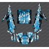 Kit de decoración de la Caída de Edición (Azul)- IDgrafix - Polaris RZR 1000 Turbo / Turbo S