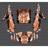 Kit dekor Drop-Edition (Orange)- IDgrafix - Polaris RZR 1000 Turbo / Turbo S