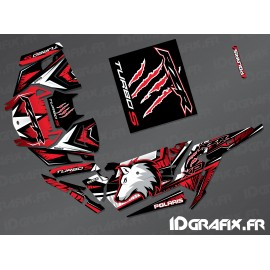 Kit dekor Wolf Edition (Rot)- IDgrafix - Polaris RZR 1000 Turbo / Turbo S